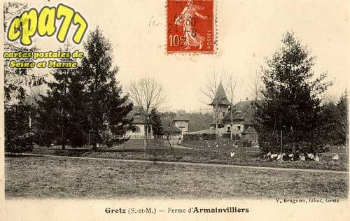 Gretz Armainvilliers - Ferme d'Armainvilliers