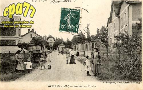 Gretz Armainvilliers - Avenue de Presles
