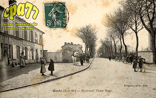 Gretz Armainvilliers - Boulevard Victor Hugo