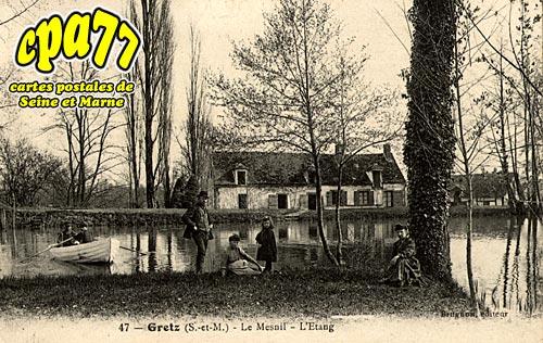 Gretz Armainvilliers - Le Mesnil - L'Etang