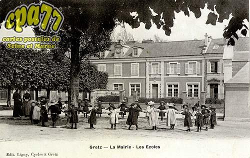 Gretz Armainvilliers - La Mairie - Les Ecoles