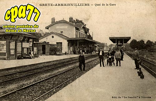 Gretz Armainvilliers - Quai de la Gare