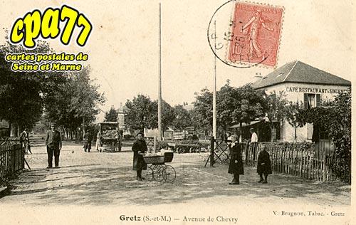 Gretz Armainvilliers - Avenue de Chevry
