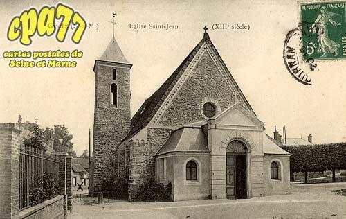 Gretz Armainvilliers - Eglise Saint-Jean (XIIIe siècle)