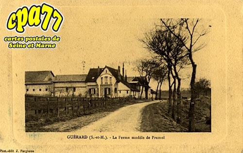 Guérard - La Fereme modèle de Prémol