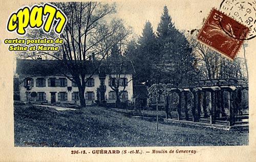 Guérard - Moulin de Genevray
