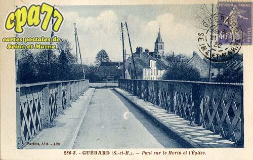 Guérard - Pont sur le Morin et l'Eglise