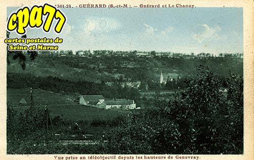 Guérard - Guérard et le Chanoy