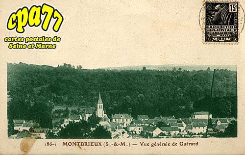 Guérard - Montbrieux - Vue générale de Guérard