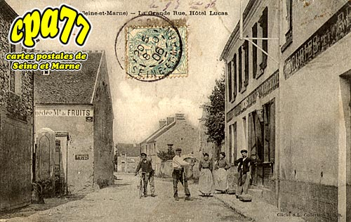 Guérard - Montbrieux - La Grande Rue, Hôtel Lucas