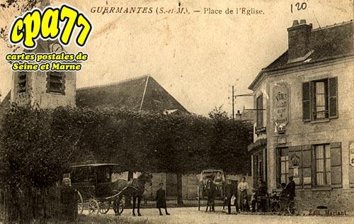 Guermantes - Place de l'Eglise
