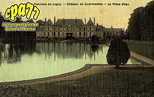 Guermantes - Le Château - La Pièce d'eau