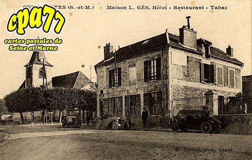 Guermantes - Maison L.GES, Hôtel-Restaurant-Tabac