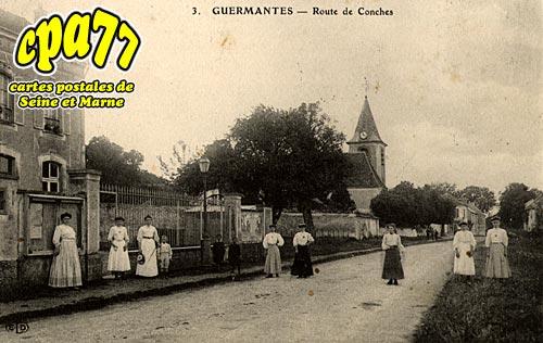 Guermantes - Route de Conches