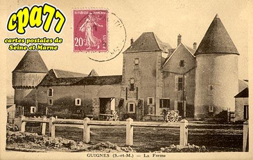 Guignes Rabutin - La Ferme