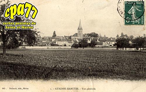 Guignes Rabutin - Vue générale