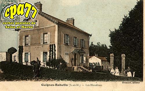Guignes Rabutin - Les Blondines