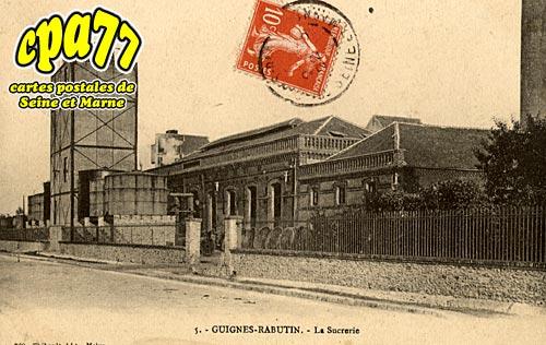 Guignes Rabutin - La Sucrerie
