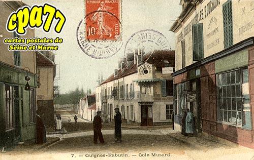 Guignes Rabutin - Coin Musard