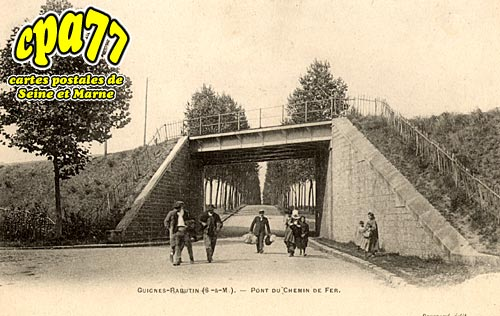 Guignes Rabutin - Pont du Chemin de Fer