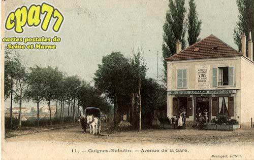 Guignes Rabutin - Avenue de la Gare