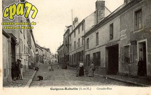 Guignes Rabutin - Grande-Rue