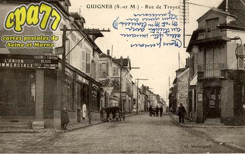 Guignes Rabutin - Rue de Troyes