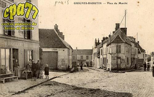 Guignes Rabutin - Place du Marché
