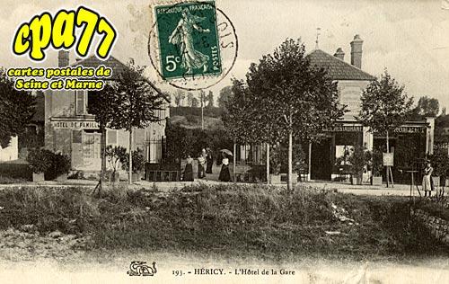 Héricy - L'Hôtel de la Gare