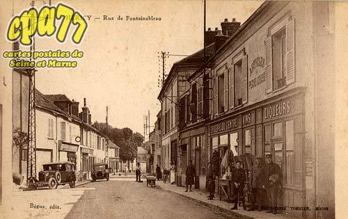 Héricy - Rue de Fontainebleau
