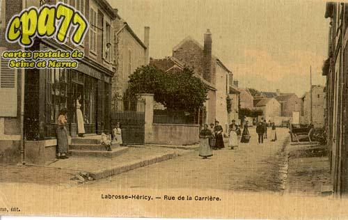 Héricy - Rue de la Carrière