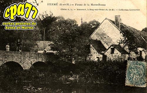 Hermé - Ferme de la Motte-Bonno