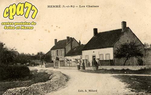Hermé - Les Chaises