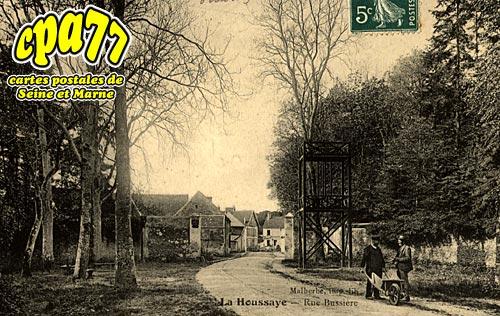 La Houssaye En Brie - Rue Bussière
