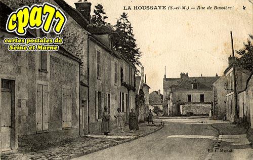 La Houssaye En Brie - Rue de Bussière