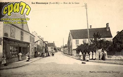 La Houssaye En Brie - Rue de la Gare