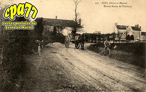 Ichy - Entrée Route de Puiseaux