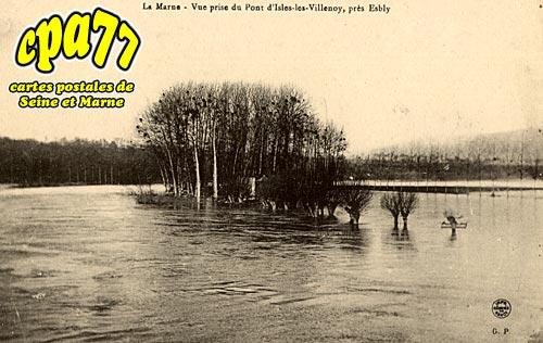 Isles Lès Villenoy - La Marne - Vue prise du Pont