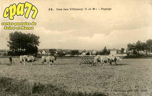 Isles Lès Villenoy - Paysage