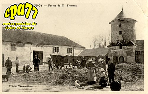 Isles Lès Villenoy - Ferme de M. Thomas