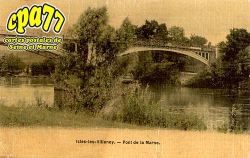 Isles Lès Villenoy - Pont de la Marne