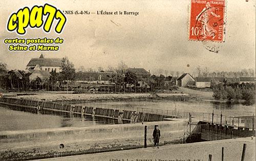 Jaulnes - L'Ecluse et le Barrage