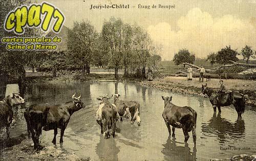 Jouy Le Châtel - Etang de Beaupré