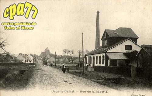 Jouy Le Châtel - Rue de la Râperie