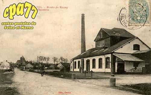 Jouy Le Châtel - Route de Rosay - La Sucrerie