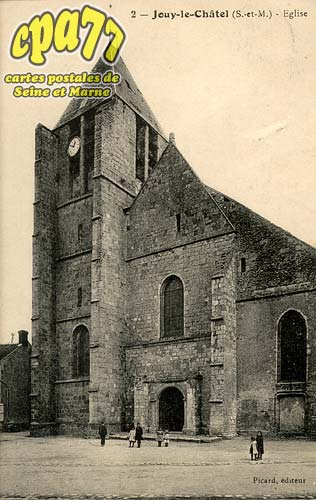 Jouy Le Châtel - Eglise