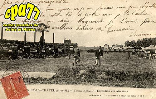 Jouy Le Châtel - Comité Agricole - Exposition des Machines