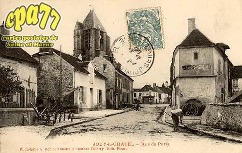 Jouy Le Châtel - Rue de Paris