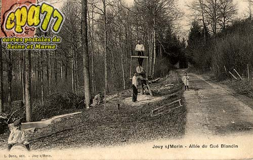 Jouy Sur Morin - Allée du Gué Blandin