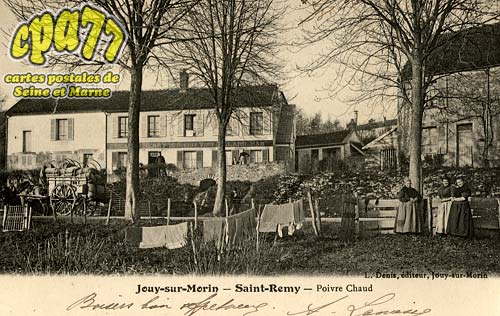 Jouy Sur Morin - Saint Répy - Poivre Chaud